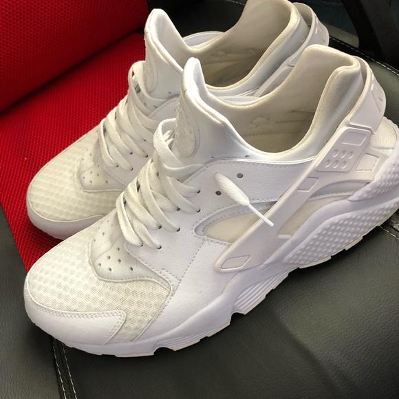 cc20b0d1e6 Nike Shoes | All White Huraches Size 13 | Poshmark